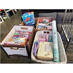 Lot of beauty items and princess toys