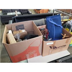 2 boxes of estate goods
