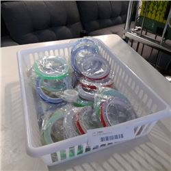 Tray of 3M reflective tape