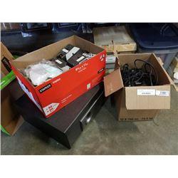 Pioneer surround sound speaker set and logitech speaker set