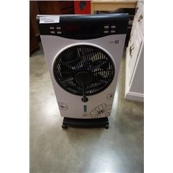 Standing fanware mist spraying fan