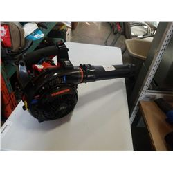 REMINGTON GAS POWERED BLOWER RM2BV FOR PARTS OR REPAIR