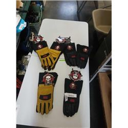 LOT OF ANARCHY WELDING GLOVES