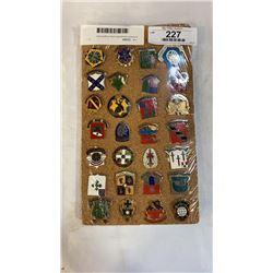 American designated unity insignia pins