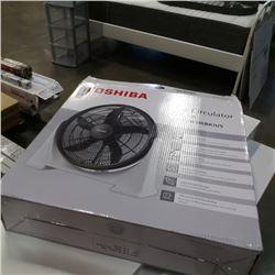 Floor fan in box