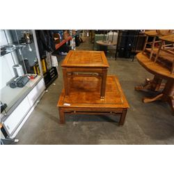LARGE COFFEE TABLE WITH ENDTABLE
