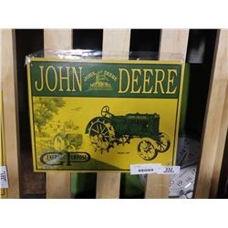 JOHN DEERE REPRO METAL SIGN