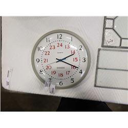 EDWARDS QUARTZ WALL CLOCK