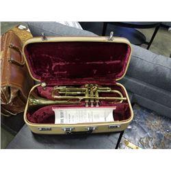 Labell de lyon trumpet in case