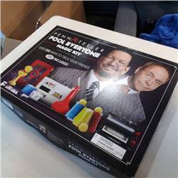 Complete Penn and teller of magic kit