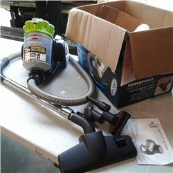 BISSELL CANISTER VACUUM WORKING