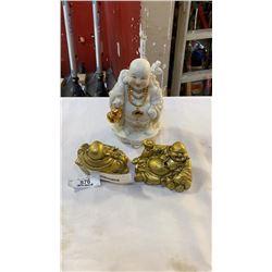 3 BUDAH FIGURES