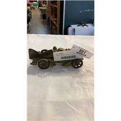 Cast iron hudley race car