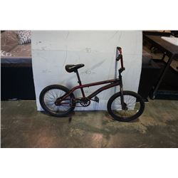 BLACK AND RED SIMS BIKE