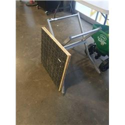 FOLDABLE WORK STAND AND 2 SUB FLOOR PIECES