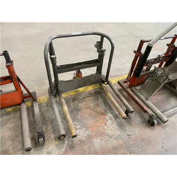 ULTRA PRO INDUSTRIAL MOBILE HYDRAULIC WHEEL DOLLY 3/4 TON