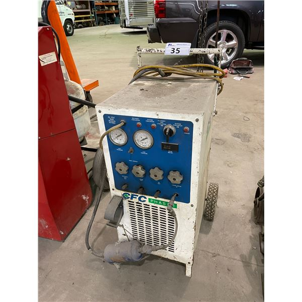 CFC 2000 PHASE 1 MOBILE FLUIDS RECOVERY SYSTEM