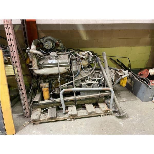 DETROIT DIESEL BUS ENGINE