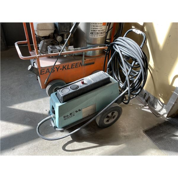 KEW 4003K INDUSTRIAL ELECTRIC PRESSURE WASHER WITH HOSE AND WAND