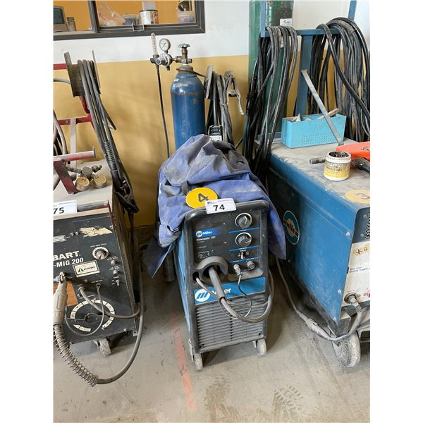 MILLER - MILLERMATIC 251 WIRE FEED WELDER WITH GROUND AND WAND