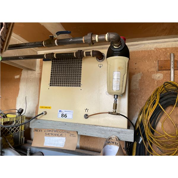 *APR 30 REMOVAL* DAYSTREAM DRS 80 230PSIG INDUSTRIAL AIR DRYER WITH FILTER