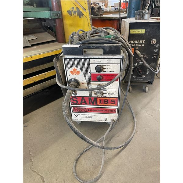 CONTROL SYSTEMS SAM 185 WIRE FEED MULTI WELDER WITH GROUND AND TRIGGER