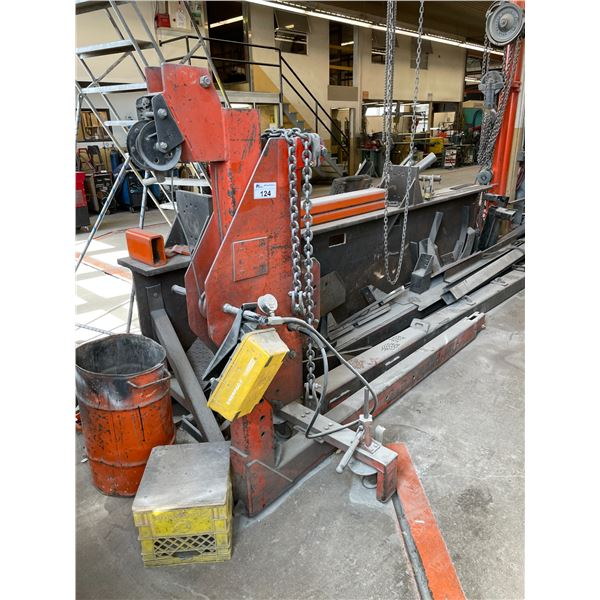 GUY-CHART POWER-PULL MOBILE INDUSTRIAL HYDRAULIC FRAME AND BODY REPAIR SYSTEMS