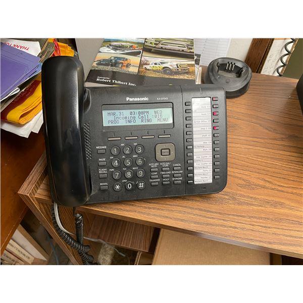 *APR 30 REMOVAL* PANASONIC KX-DT543 LAND LINE PHONE SYSTEM WITH 12 PANASONIC MULTI LINE HANDSET