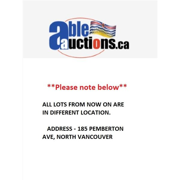 ALL LOTS FROM NOW ON ARE IN DIFFERENT LOCATION. ADDRESS - 185 PEMBERTON AVE, NORTH VANCOUVER