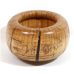 Beautiful Carved Wood Bowl