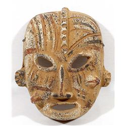 Mexican Pottery Mask