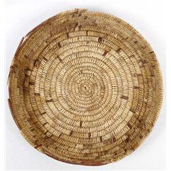 Antique Native American Mescalero Basketry Tray