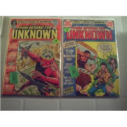 DC COMICS  FROM BEYOND THE UNKNOWN NO. 16 AND NO. 19