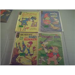 4GOLD KEY 12- 30 CENT COMICS