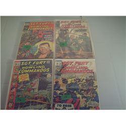 4 SGT. FURY MARVEL COMICS