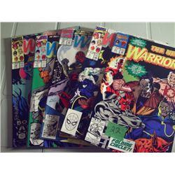 "6 MARVEL COMICS ""THE NEW WARRIORS'"