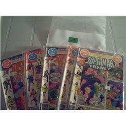 DC OMICS 5 SUPERMAM FAMILY