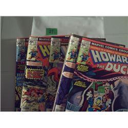 MARVEL COMICS 5 HOWARD THE DUCK