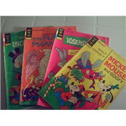 GOLD KEY COMICS 4 VARIOUS COMICS