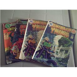 DC COMICS 4 SWAMP THING
