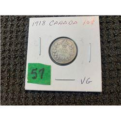 CANADA 1918 10 CENT