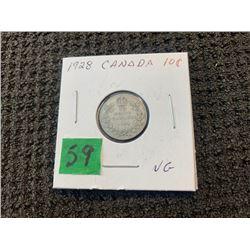 CANADA 1928 10 CENT