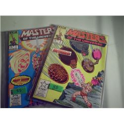 STAR COMICS MASTERS OF THE UNIVERSE #1 AND #2