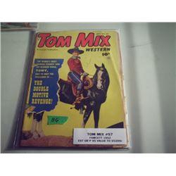 TOM MIX WESTERN #57 10 CENT COMIC