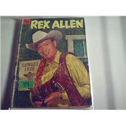REX ALLEN WESTERN #8 10 CENT COMIC