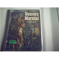 DELL COMICS WESTERN MARSHSL #534
