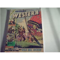 CHARLTON COMICCOWBOY WESTERN 10 CET COMIC VOL 1 #53 1955