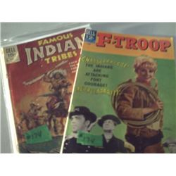 DELL COMICS F-TROOP & FAMOUS INDIAN TRIBES
