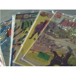 CHARLTON COMICS  ATTACK COMICS NO. 3 35 36 & 48
