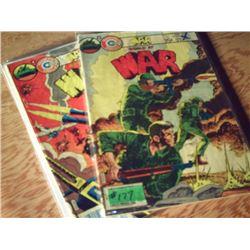 CHARLTON COMICS WORLD AT WAR NO. 11 & NO. 35